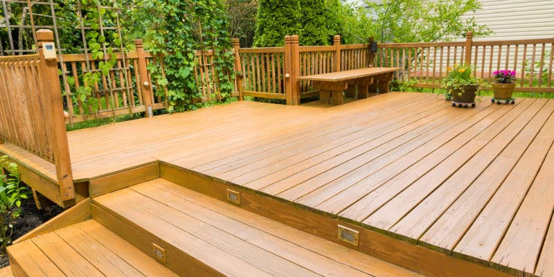 Custom decks can really extend the use of your outdoor space